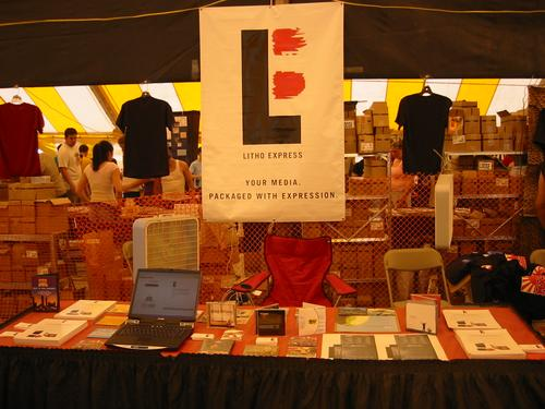 LE booth