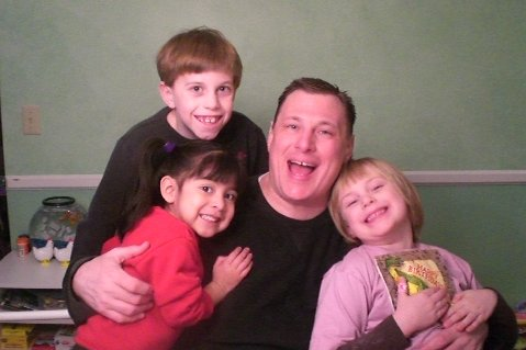 Dad and the Kids!