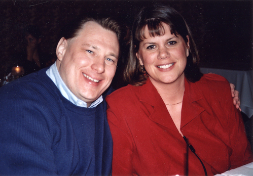 Tony and Sara in December of 2004