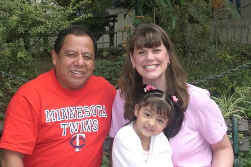 Javier, Sara and Anna