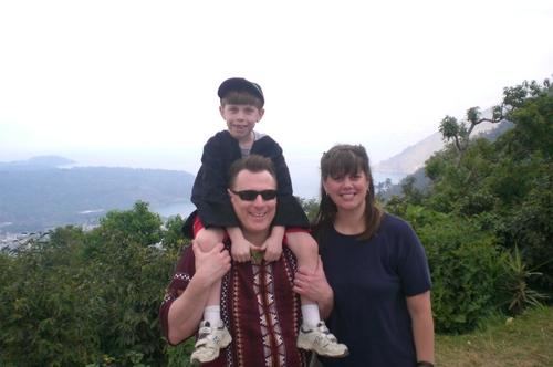 Adam, Daddy and Sara